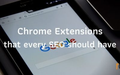 Chrome extensions that every SEO should have