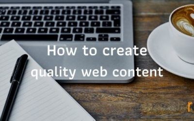 How to create quality web content